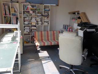 事務所のビフォア