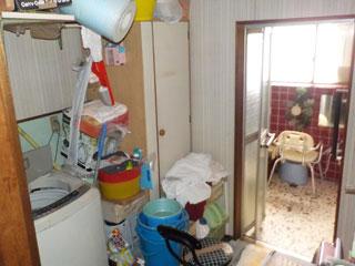洗面所のビフォア