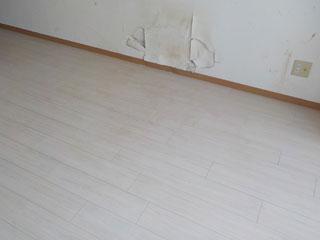床清掃のアフター