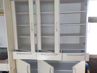 食器棚のアフター