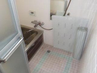 浴室のアフター