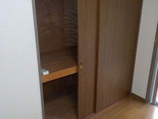 部屋1の押入れのアフター