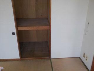 部屋2の押入れのアフター
