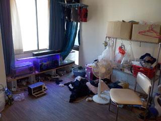 部屋のビフォア