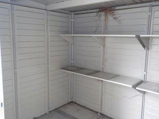 倉庫のアフター