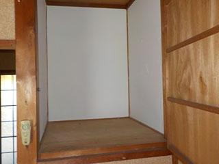 部屋3の押入れアフター