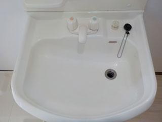 洗面のアフター