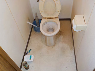 トイレのビフォア