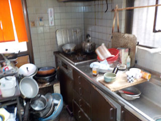 キッチンのビフォア