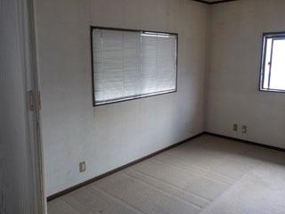2階納戸のアフター