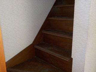 階段のアフター