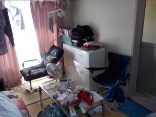 部屋1のビファア