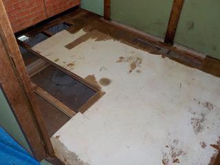 床撤去のアフター