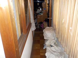 2階廊下のビフォア