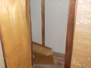 2階部屋2の収納のアフター