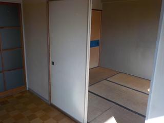部屋1から部屋2のアフター