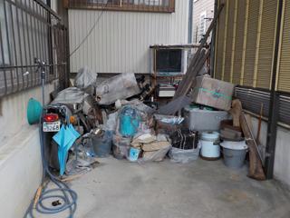 車庫1のビフォア