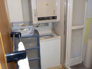 洗濯機置き場のビフォア