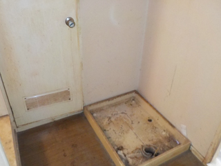洗濯機置き場のアフター