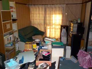 キッチン~部屋3のビフォア
